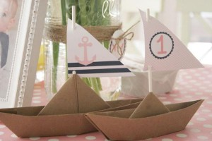 Sailor Girl Nautical Birthday Party via Kara's Party Ideas | KarasPartyIdeas.com #sailor #nautical #girl #navy #party #ideas (18)