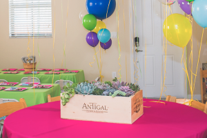 Mod Safari Wild Animal themed birthday party for a girl via Kara's Party Ideas | KarasPartyIdeas.com #modern #animal #wild #safari #jungle #mod #birthday #party #girl #ideas #cake #supplies #decoration #idea (8)
