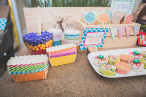 Mod Safari Wild Animal themed birthday party for a girl via Kara's Party Ideas | KarasPartyIdeas.com #modern #animal #wild #safari #jungle #mod #birthday #party #girl #ideas #cake #supplies #decoration #idea (7)