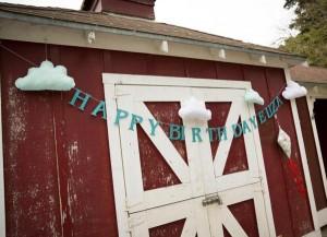 Vintage Barnyard + Kite Party via Kara's Party Ideas | KarasPartyIdeas.com #barnyard #kite #birthday #party (8)