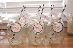 Sailor Girl Nautical Birthday Party via Kara's Party Ideas | KarasPartyIdeas.com #sailor #nautical #girl #navy #party #ideas (12)