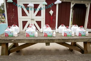 Vintage Barnyard + Kite Party via Kara's Party Ideas | KarasPartyIdeas.com #barnyard #kite #birthday #party (4)