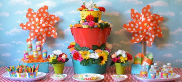 Cupcake in Bloom Spring Dessert Party via Kara's Party Ideas | KarasPartyIdeas.com #cupcake #bloom #spring #dessert #table #party #ideas (41)