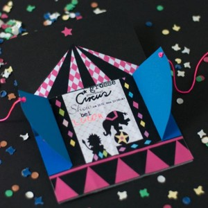 Circus + Magic Birthday Party via Kara's Party Ideas | KarasPartyIdeas.com #girl #circus #magic #magician #party #ideas #decorations #supplies (20)