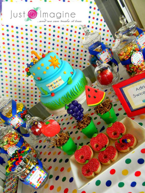 Caterpillar Party via Kara's Party Ideas | KarasPartyIdeas.com #very #hungry #caterpillar #baby #einstein #party #ideas (27)