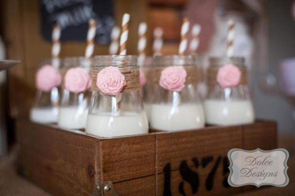 Vintage Cowgirl Party via Kara's Party Ideas | KarasPartyIdeas.com #vintage #cowgirl #farm #birthday #party #ideas (22)