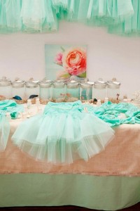 Mermaid girl under the sea party via Kara's Party Ideas! KarasPartyIdeas.com #mermaid #themed #birthday #party #planning #supplies #cake #cupcakes #idea (56)