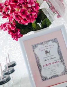 Princess Baby Shower via Kara's Party Ideas | KarasPartyIdeas.com #pink #gray #princess #baby #shower #party #ideas (30)
