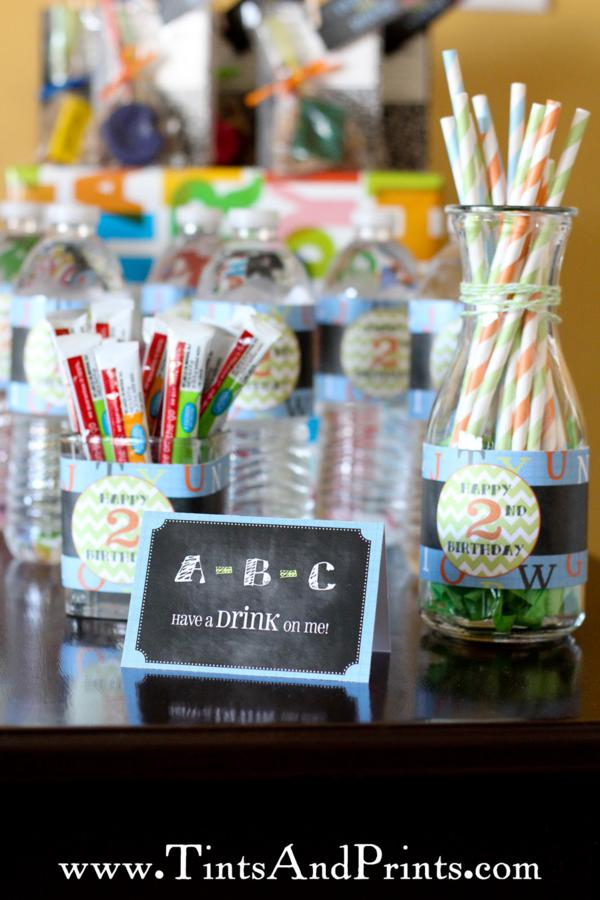 Alphabet ABC Party via Kara's Party Ideas | KarasPartyIdeas.com #alphabet #abc #school #birthday #party #ideas (16)