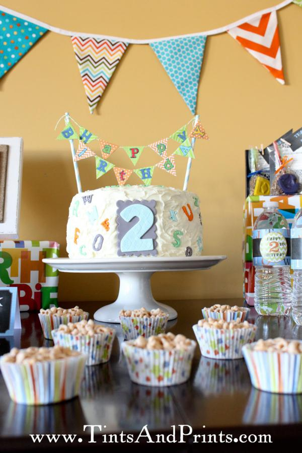 School Themed Birthday Party Themed 2nd Birthday Party