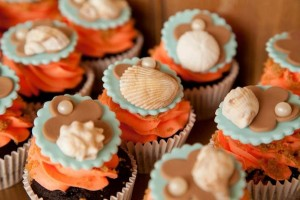 Mermaid girl under the sea party via Kara's Party Ideas! KarasPartyIdeas.com #mermaid #themed #birthday #party #planning #supplies #cake #cupcakes #idea (55)