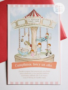 Vintage Carousel Birthday Party via Kara's Party Ideas | KarasPartyIdeas.com #vintage #carousel #birthday #party #ideas (10)