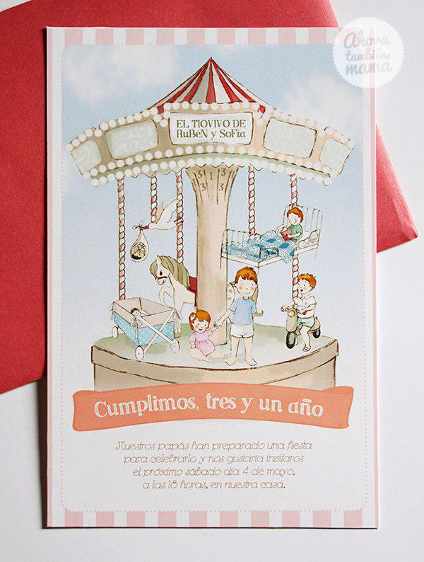 Karas Party Ideas Vintage Carousel Birthday Party via Karas