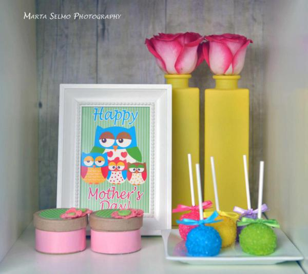 Mama Owl Mother's Day Party via Kara's Party Ideas | KarasPartyIdeas.com #mother's #day #owl #party #baby #shower #ideas (37)