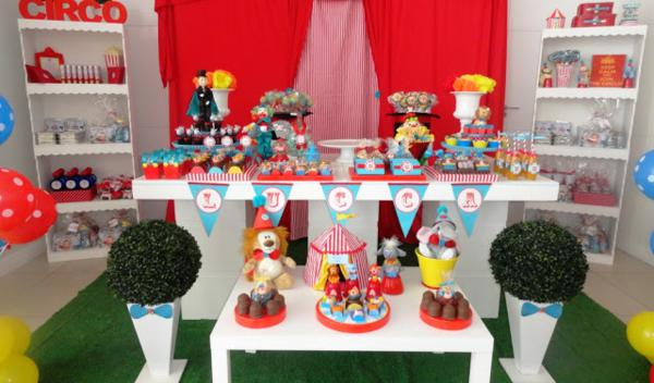 Circus Birthday Party via Kara's Party Ideas | KarasPartyIdeas.com #circus #carnival #birthday #party #ideas (5)