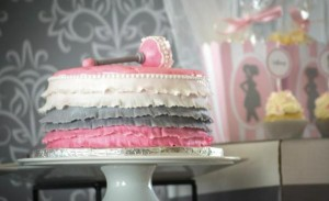 Princess Baby Shower via Kara's Party Ideas | KarasPartyIdeas.com #pink #gray #princess #baby #shower #party #ideas (26)