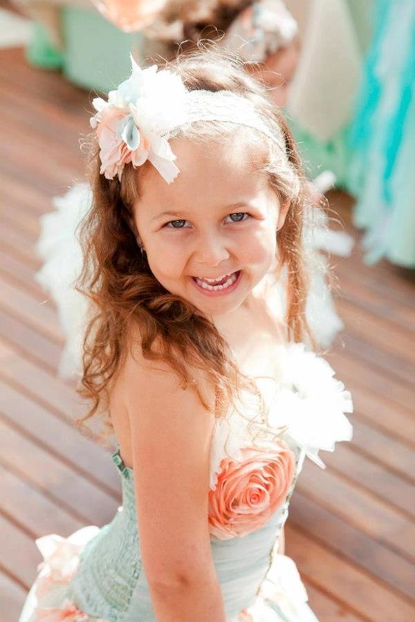 Mermaid girl under the sea party via Kara's Party Ideas! KarasPartyIdeas.com #mermaid #themed #birthday #party #planning #supplies #cake #cupcakes #idea (63)