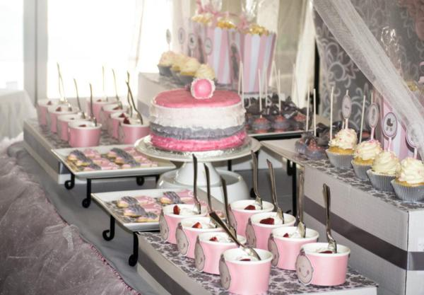Pink And Grey Baby Shower Decorations Home Design Ideas