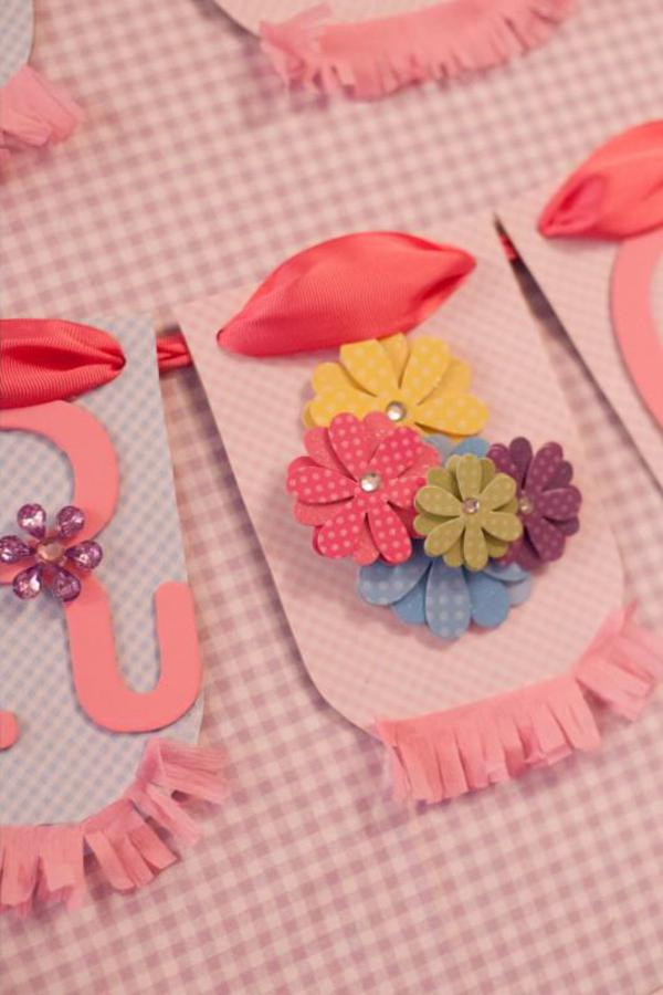 Girly Gingham Party via Kara's Party Ideas | KarasPartyIdeas.com #girly #gingham #pink #party #ideas (14)
