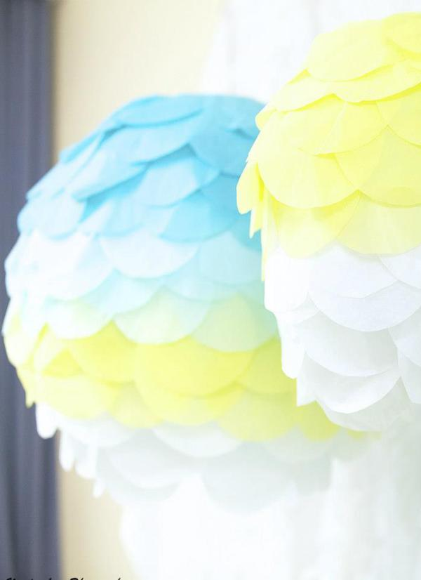 Hot Air Balloon Baby Shower via Kara's Party Ideas | KarasPartyIdeas.com #hot #air #balloon #up #away #baby #shower #party #ideas (15)