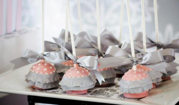 Princess Baby Shower via Kara's Party Ideas | KarasPartyIdeas.com #pink #gray #princess #baby #shower #party #ideas (22)