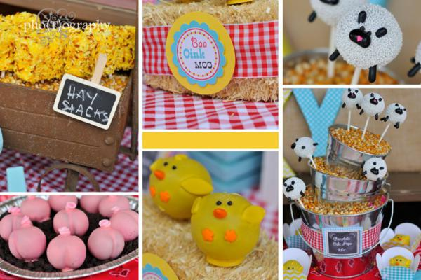 Farmyard Birthday Bash via Kara's Party Ideas | KarasPartyIdeas.com #farmyard #farm #birthday #bash #party #ideas (11)