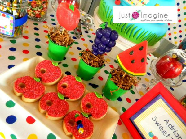 Caterpillar Party via Kara's Party Ideas | KarasPartyIdeas.com #very #hungry #caterpillar #baby #einstein #party #ideas (12)