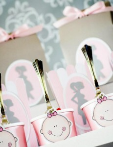 Princess Baby Shower via Kara's Party Ideas | KarasPartyIdeas.com #pink #gray #princess #baby #shower #party #ideas (21)