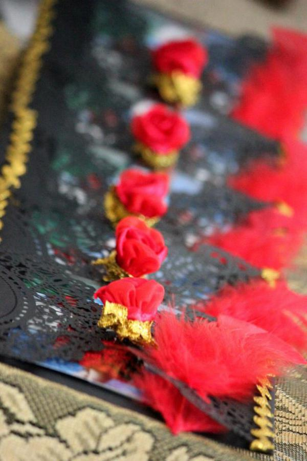 Flamenco Dancer Themed Party via Kara's Party Ideas | KarasPartyIdeas.com #flamenco #dance #rose #red #party #ideas (29)