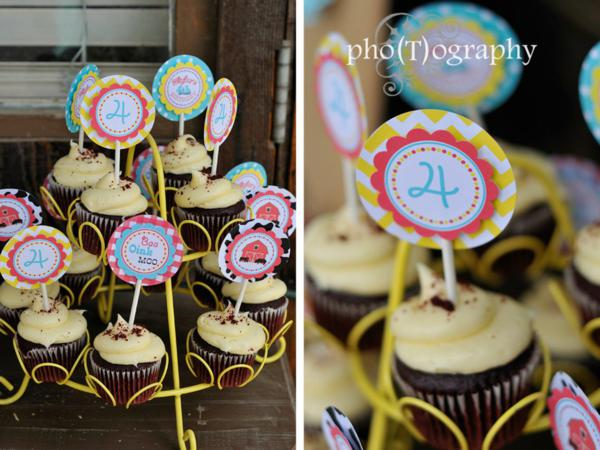 Farmyard Birthday Bash via Kara's Party Ideas | KarasPartyIdeas.com #farmyard #farm #birthday #bash #party #ideas (9)
