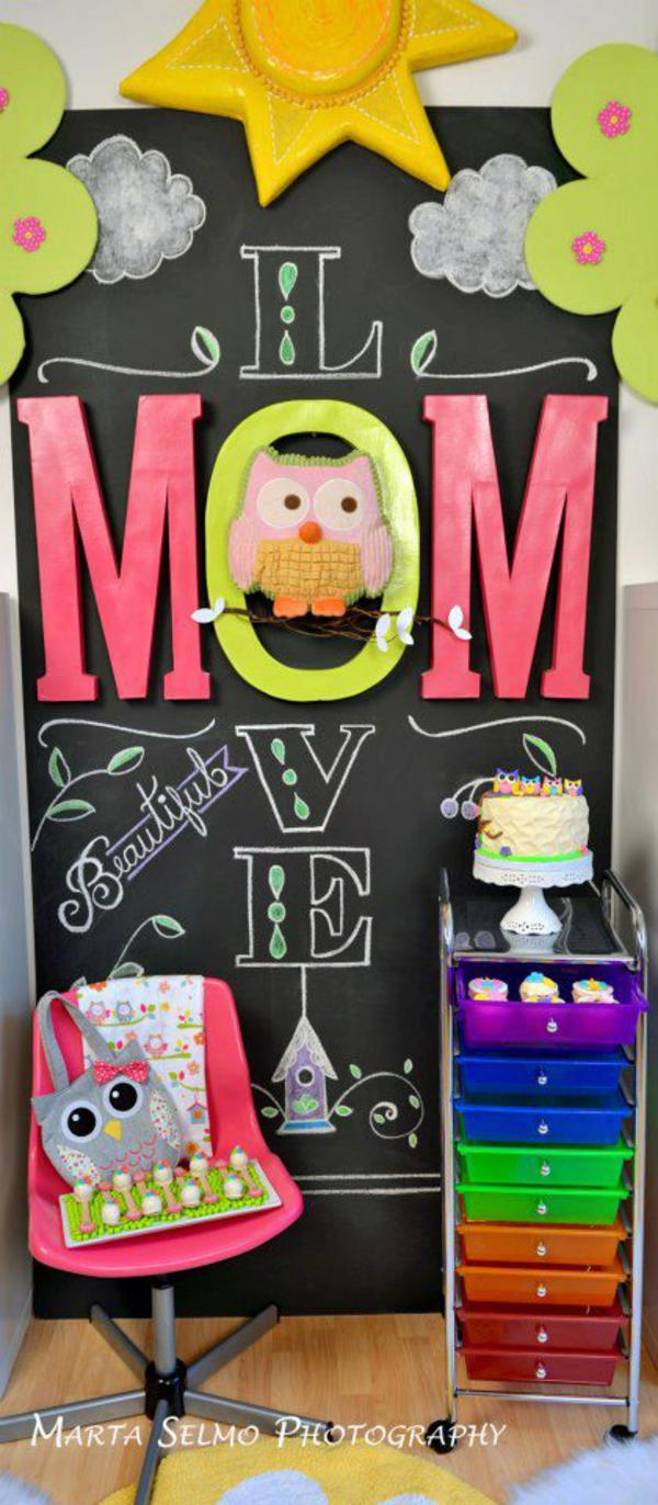 Mama Owl Mother's Day Party via Kara's Party Ideas | KarasPartyIdeas.com #mother's #day #owl #party #baby #shower #ideas (27)