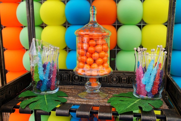 Luau + Surf themed birthday party FULL of ideas! Via Kara's Party Ideas | KarasPartyIdeas.com #summer #pool #luau #surfing #party #themed #idea #cake #supplies #decor #food #desserts (8)