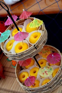 Luau + Surf themed birthday party FULL of ideas! Via Kara's Party Ideas | KarasPartyIdeas.com #summer #pool #luau #surfing #party #themed #idea #cake #supplies #decor #food #desserts (6)