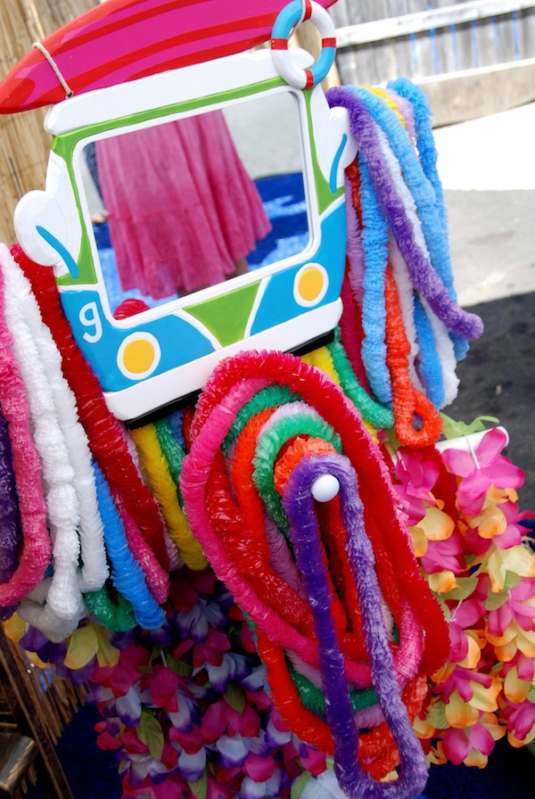 Luau + Surf themed birthday party FULL of ideas! Via Kara's Party Ideas | KarasPartyIdeas.com #summer #pool #luau #surfing #party #themed #idea #cake #supplies #decor #food #desserts (5)
