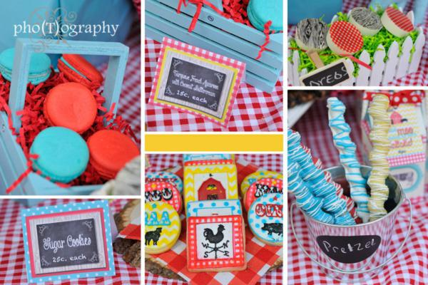 Farmyard Birthday Bash via Kara's Party Ideas | KarasPartyIdeas.com #farmyard #farm #birthday #bash #party #ideas (6)
