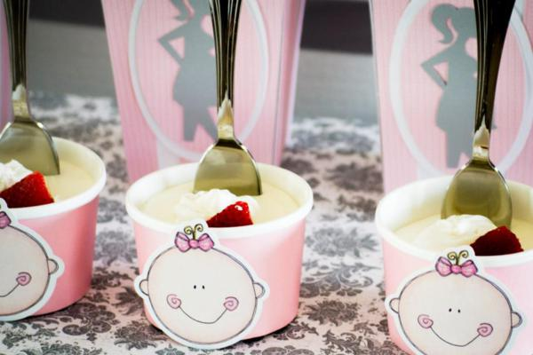 Princess Baby Shower via Kara's Party Ideas | KarasPartyIdeas.com #pink #gray #princess #baby #shower #party #ideas (17)