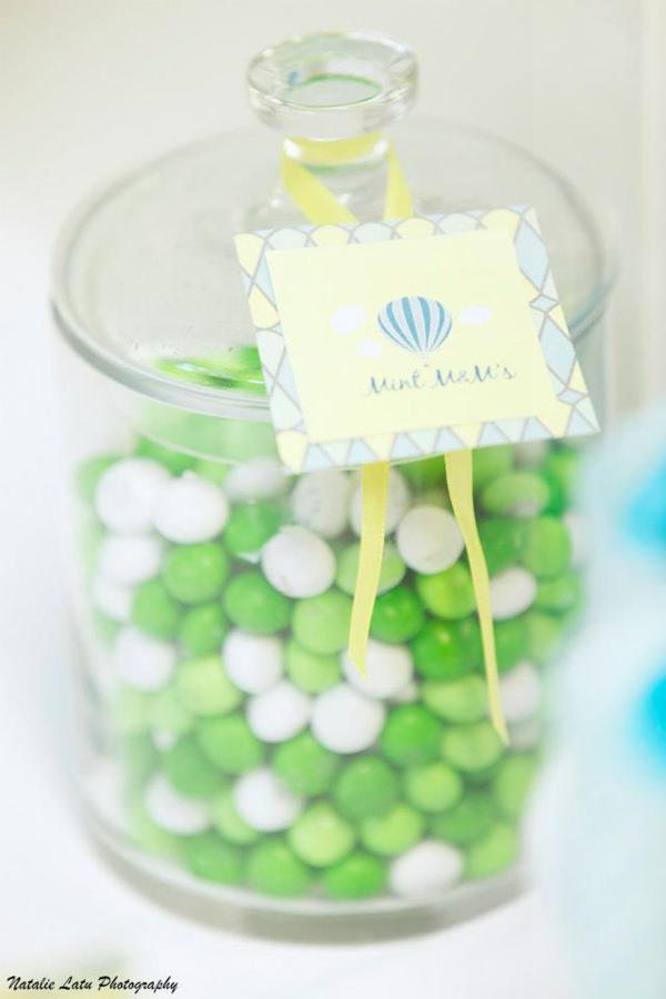 Hot Air Balloon Baby Shower via Kara's Party Ideas | KarasPartyIdeas.com #hot #air #balloon #up #away #baby #shower #party #ideas (10)