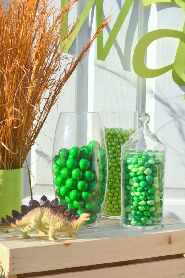 Dinosaur Birthday Party via Kara's Party Ideas | KarasPartyIdeas.com #dino #dinosaur #dinomite #birthday #party #ideas (2)