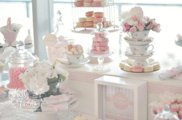 Pretty Pink Vintage Wedding Via Karas Party Ideas
