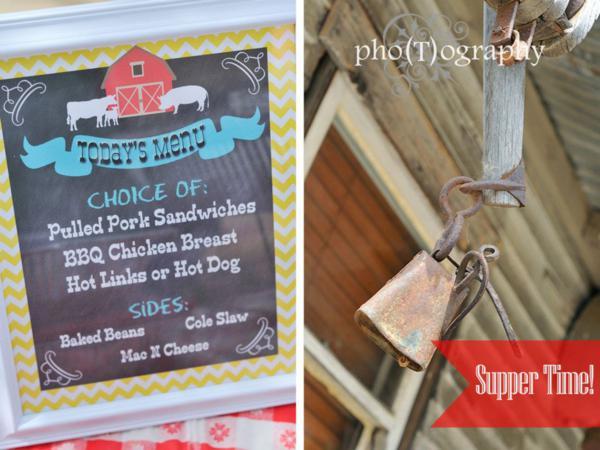 Farmyard Birthday Bash via Kara's Party Ideas | KarasPartyIdeas.com #farmyard #farm #birthday #bash #party #ideas (3)