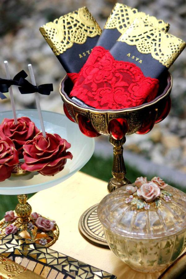 Flamenco Dancer Themed Party via Kara's Party Ideas | KarasPartyIdeas.com #flamenco #dance #rose #red #party #ideas (20)