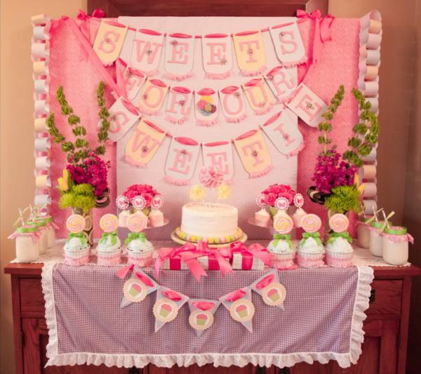Girly Gingham Party via Kara's Party Ideas | KarasPartyIdeas.com #girly #gingham #pink #party #ideas (10)