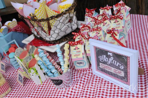 Farmyard Birthday Bash via Kara's Party Ideas | KarasPartyIdeas.com #farmyard #farm #birthday #bash #party #ideas (18)