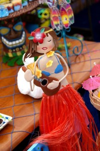 Luau + Surf themed birthday party FULL of ideas! Via Kara's Party Ideas | KarasPartyIdeas.com #summer #pool #luau #surfing #party #themed #idea #cake #supplies #decor #food #desserts (3)