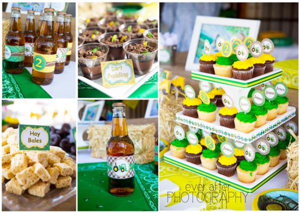John Deere Farm Party via Kara's Party Ideas | KarasPartyIdeas.com #john #deere #birthday #party #ideas (14)