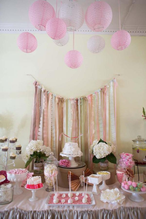 Shabby Chic Party via Kara's Party Ideas | KarasPartyIdeas.com #shabby #chic #girl #party #wedding #ideas (55)