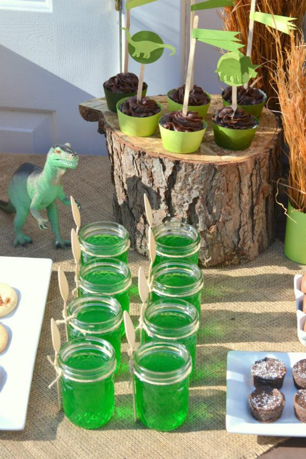 Dinosaur Birthday Party via Kara's Party Ideas | KarasPartyIdeas.com #dino #dinosaur #dinomite #birthday #party #ideas (1)