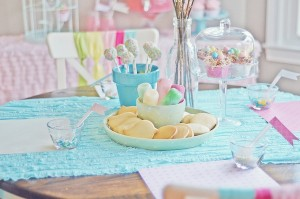 Spring cookie decorating party with TONS of cute ideas! via Kara's Party Ideas KarasPartyIdeas.com #easter #spring #decorating #cookie #party #idea #supplies (16)