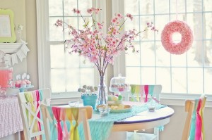 Spring cookie decorating party with TONS of cute ideas! via Kara's Party Ideas KarasPartyIdeas.com #easter #spring #decorating #cookie #party #idea #supplies (10)