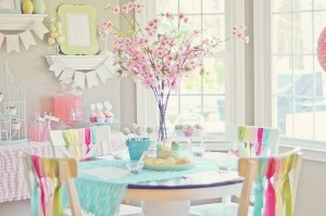 Spring cookie decorating party with TONS of cute ideas! via Kara's Party Ideas KarasPartyIdeas.com #easter #spring #decorating #cookie #party #idea #supplies (9)